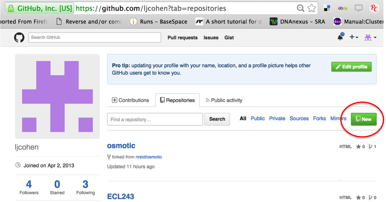 Using GitHub repositories to store your scripts — dibsi